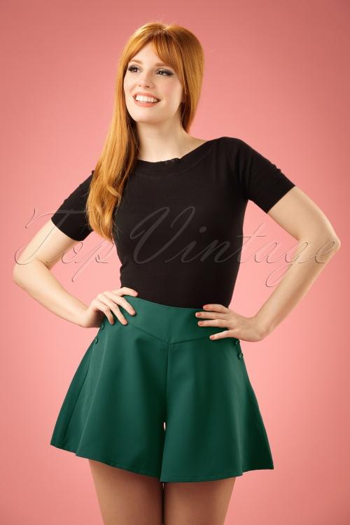 Vixen Green Shorts 130 40 20488 20170306 0012W