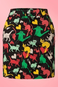 Who's That Girl Square Skirt With Cats 123 14 19794 20170112 0005w