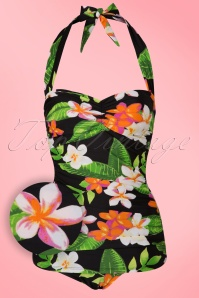 Esther Williams Classic Floral Bathing Suit 161 14 16938 20151103 0027W2