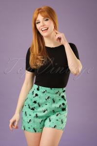 Vixen  Flossy Cats Evie Shorts 130 49 20490 20170306 01W