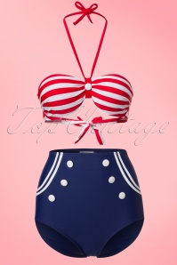 Bellissima Sailor Style Bikini  160 30 21178 20170207 0002W