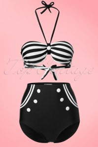 Bellissima Sailor Style Bikini  160 30 21176 20170207 0002W