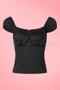 Steady Clothing Top in Black 20743 20170331 0007w