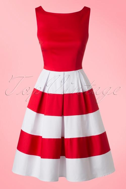 Dolly and Dotty Anna Striped Dress 102 20 18177 20160615 0009W