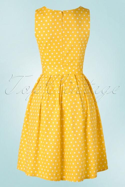 0c0dd8763 Dolly and Dotty Lola Classic Polkadot Dress in yellow 102 89 18321 02172016  018W