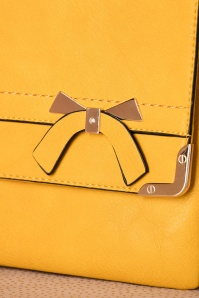 La Parisienne Yellow Bow Bag 216 80 21755 04032017 020