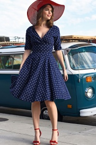 Unique Vintage Anchor Swing Dress 102 39 21456 20170329 06