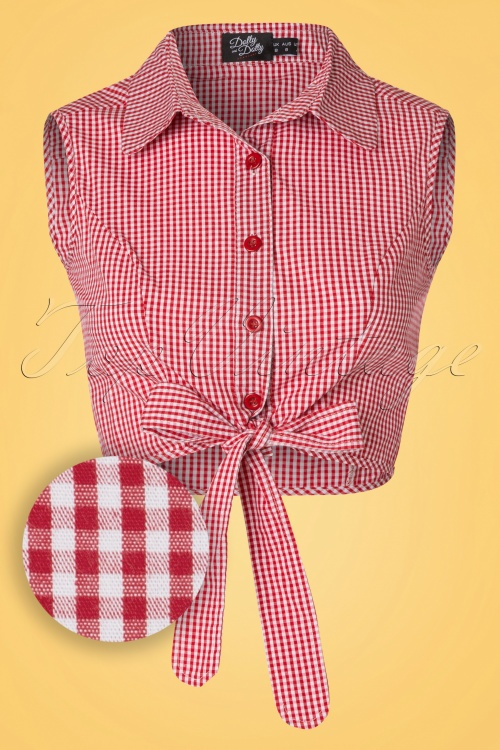 Dolly and Dotty Blouse in Gingham  112 27 20741 20170404 0002W1