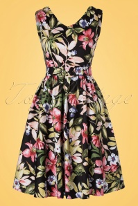 Dolly and Dotty Petal Floral Swing Dress 102 14 20731 20170404 0009W