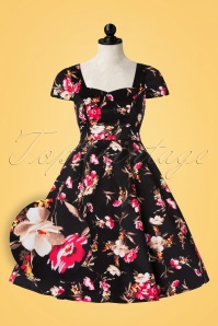 Dolly and Dotty Claudia Floral Swing Dress 102 14 21878 20170404 0002popW1