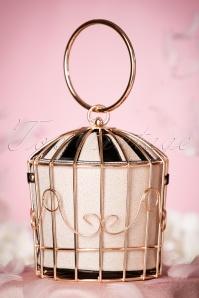 20s Classy Birdcage Handbag in Gold