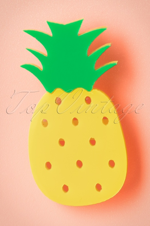 Collectif Pineapple Brooch 340 80 20343 20170404 0003w