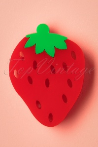 60s My Sweet Strawberry Brooch