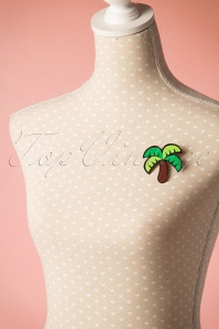 Collectif Tropical Palm Brooch 340 40 20345 20170404 0006w