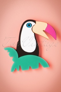 60s My Tropical Toucan Brooch