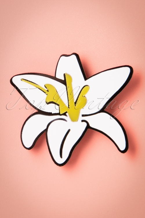 Collectif Stargazer Lily Brooch 340 50 20342 20170404 0001w