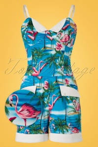 Collectif Clothing Futura Flamingo Island Playsuit 20704 20161125 0003wv