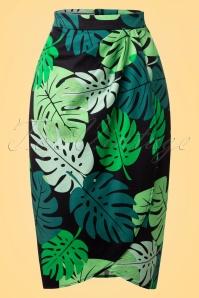Collectif Cloting Tahiti Palm Print Sarong 17647 20151117 0002W
