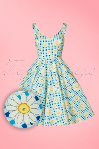 Bunny Sunshine 50s Floral Dress 102 39 21063 20170406 0001W1