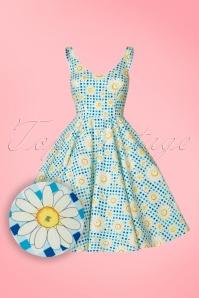 Bunny Sunshine 50s Floral Dress 102 39 21063 20170406 0001W1