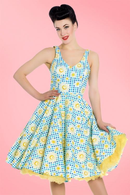Bunny Sunshine 50s Floral Dress 102 39 21063 3