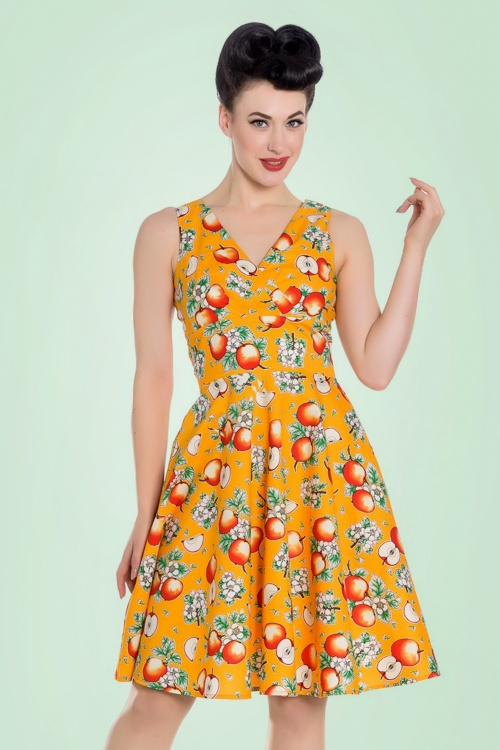 Bunny Sommerset Orange Apple Swing Dress 102 28 21065 20170406 0006