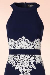Paper Dolls Navy Cream Lace Maxi Dress 108 31 20557 20170410 0002V