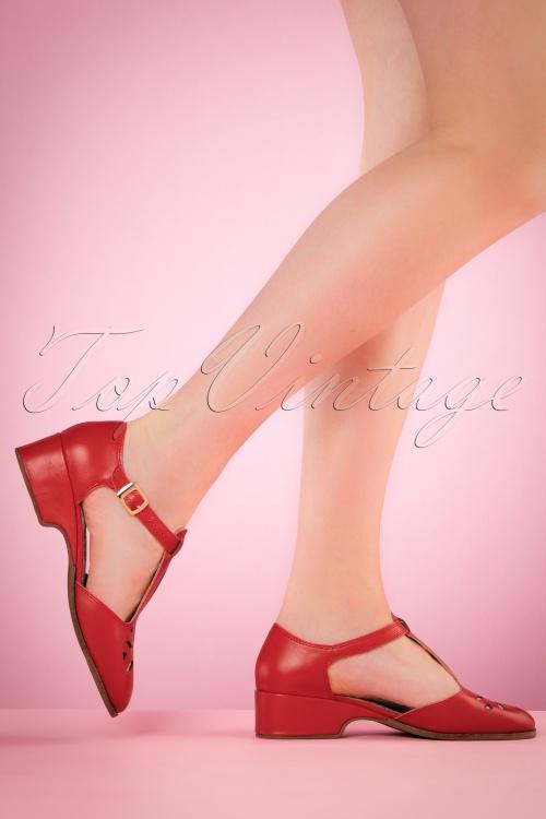 Miss L Fire Daisy Red Sandals 452 20 20114 04052017 004w