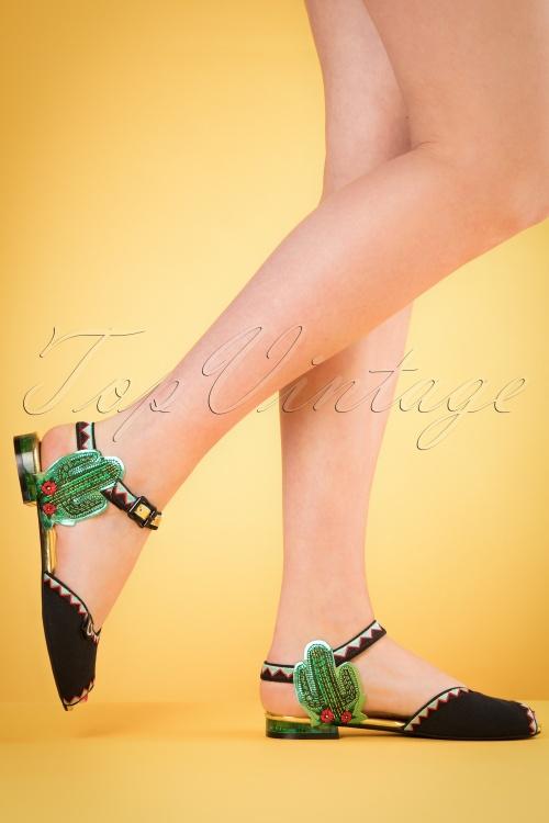 Miss L Fire Serape Multicolour Sandals 420 10 20112 04052017 013w