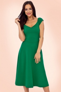 Vintage Chic Green Swing Dress 102 40 21758 20170410 1