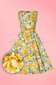 Hearts and Roses White Yellow Swing Dress 102 59 21742 20170410 0002W1