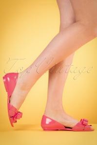 Petite Jolie Pink Flat Shoes 420 22 19837 04052017 003w