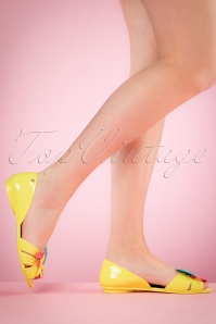 Petite Jolie Yellow Amarelo Sandals 420 10 19838420 80 19835 04052017 003w