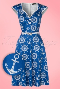 Lady V Isabella Anchor Swing Dress 102 39 21249 20170403 0012W1