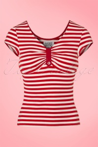 Fever Red Stripes Top 111 27 21455 20170329 0001W