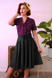 Daisy Dapper Bonnie Bow Black Skirt 122 10 21134 20170411 01