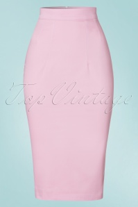 Vixen by Micheline Pitt Pink Vixen Pencil Skirt 120 22 21832 20170411 0002W