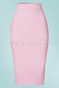 Vixen by Micheline Pitt Pink Vixen Pencil Skirt 120 22 21832 20170411 0002W