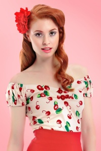 Collectif Cloting Dolores Top Cherry Top 17727 20151117 0007