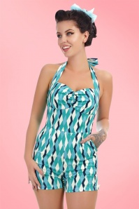 Collectif Clothing Kimmy Atomic Harlequin Playsuit 20706 20161125 1