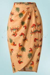 Collectif Clothing Kiala Pineapple & Palm Sarong 20660 20161130 0001W
