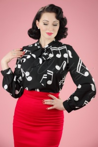 Retrolicious Symphony Blouse 112 14 20476 20170331 00010W