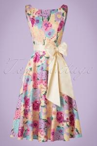 Collectif Clothing Margaret English Tea Garden Swig Dress 20847 20161128 0018W