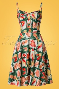 Collectif Clothing Fairy Tropical Bamboo Doll Dress 20701 20161129 0011W