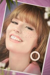 Splendette White Sheen Fakelite Earrings 333 50 21147 20170412 0006w