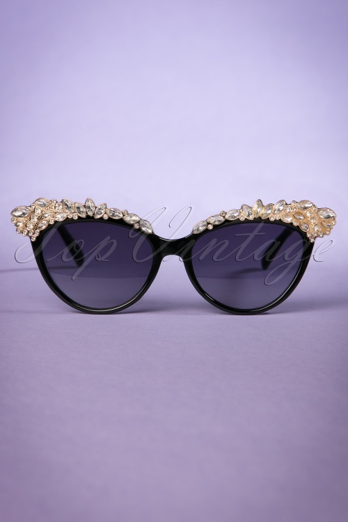 Collectif Audrey Diamants Catseye Sunglasses 260 10 21480 20170414 0019w