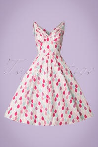 Miss Candyfloss Summer Leaf Swing Dress 102 59 20607 20170414 0003W