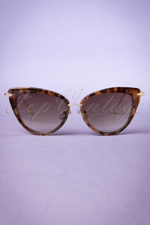 Unique Retro Vintage Style Sunglasses & Eyeglasses 50s Dita Cat Eye Sunglasses in Tortoise £16.08 AT vintagedancer.com