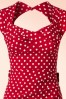 Stop Staring Love Bow Polkadot Pencil Dress 15214 20141105 0003V