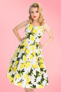 Hearts and Roses White Lemon Swing Dress 102 59 19990 20170418 01